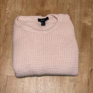 Forever 21 Pink Sweater